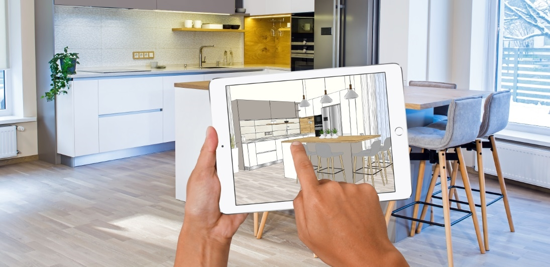 Interior design applications - for smartphone and computer..